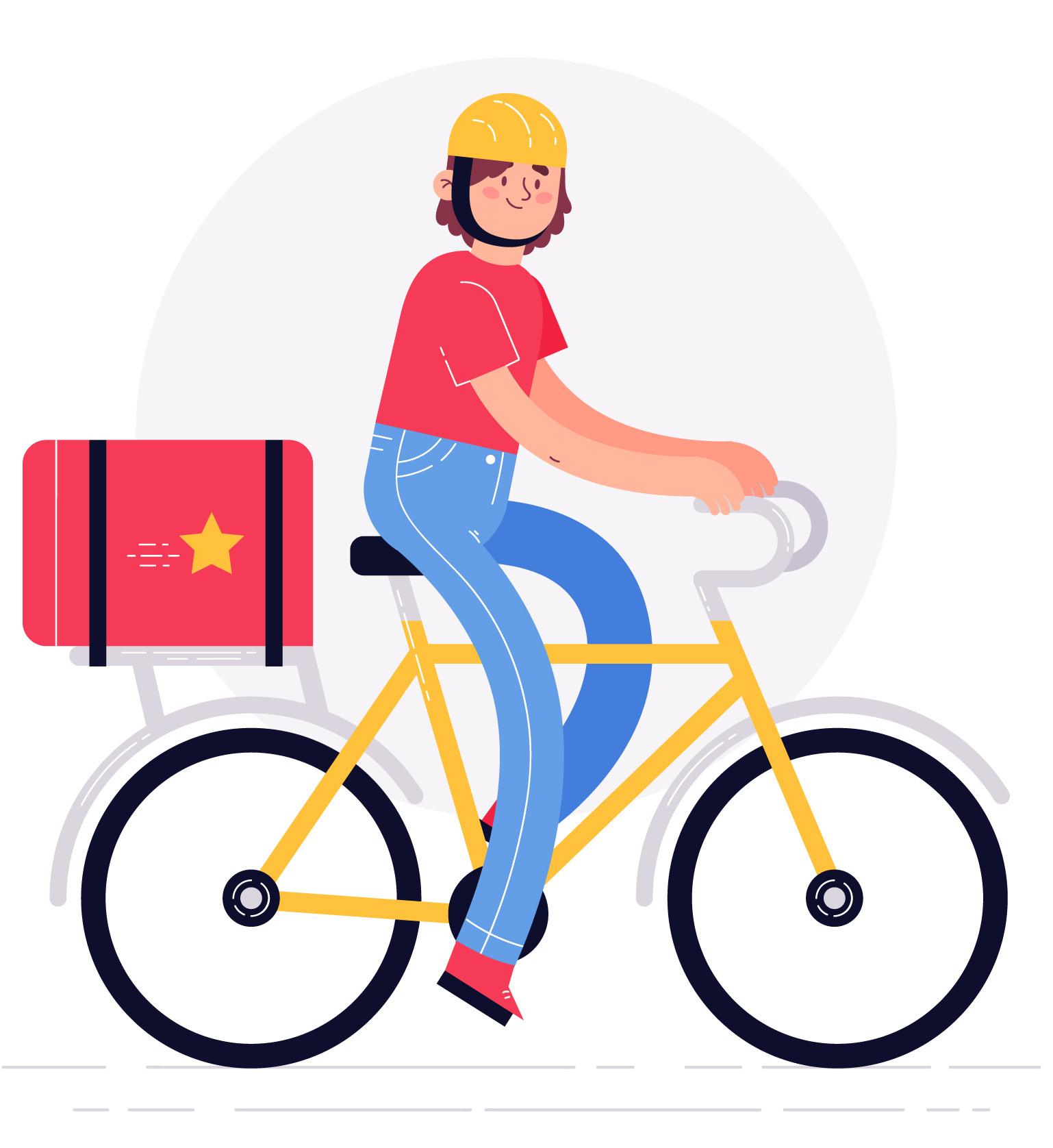 robafattamman consegna gratis ecologica in bici per Salerno e Pontecagnano